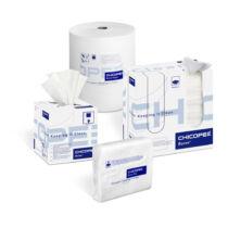 Chicopee J-Cloth Plus Medium (Econoline) gazdaságos hajtogatott törlőkendő, fehér  - Chicopee törlőkendő