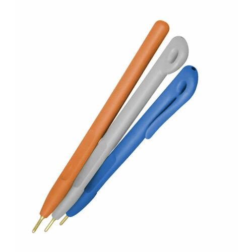 Elephant Pen egyrészes toll, csiptető nélkül, kék házzal, piros tintával, standard betéttel (50 db/csomag) - Detektálható toll