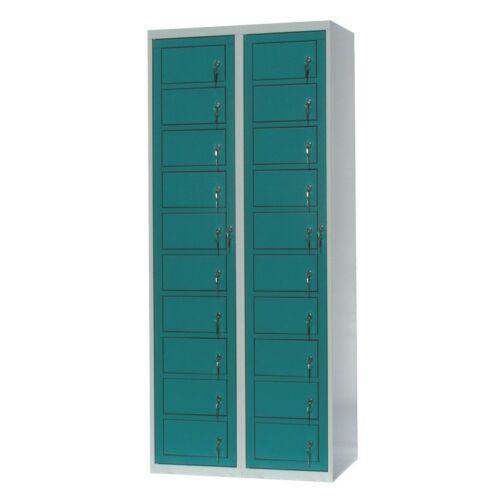 Mosodai kiadószekrény 2 oszlopos 20 ajtós