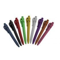 Elephant Pen kapcsolható toll, csiptetővel, kék házzal, kék tintával, standard betéttel (50 db/csomag) - Detektálható toll
