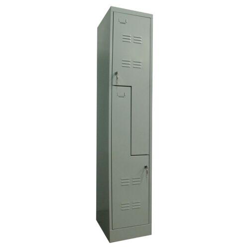 K. SZ. 2/350 Z osztályú öltözőszekrény 350mm fakkszélességgel (Standard)