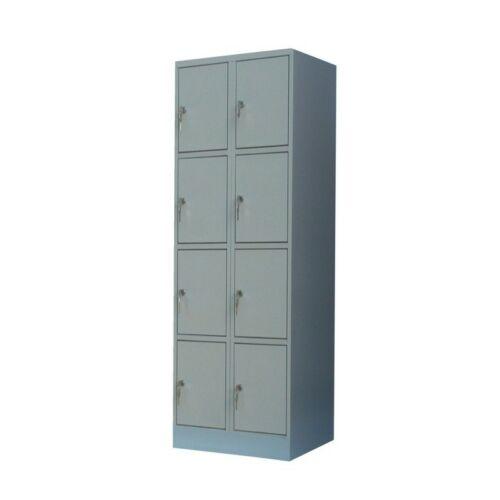 K. SZ. 2/8 500mm mély rekeszes 2 oszlopos értékmegőrző szekrény (Standard)