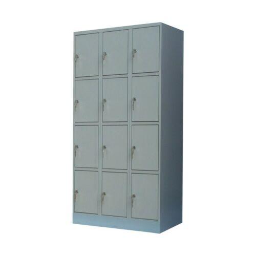 K. SZ. 3/12 500mm mély rekeszes 3 oszlopos értékmegőrző szekrény (Standard)
